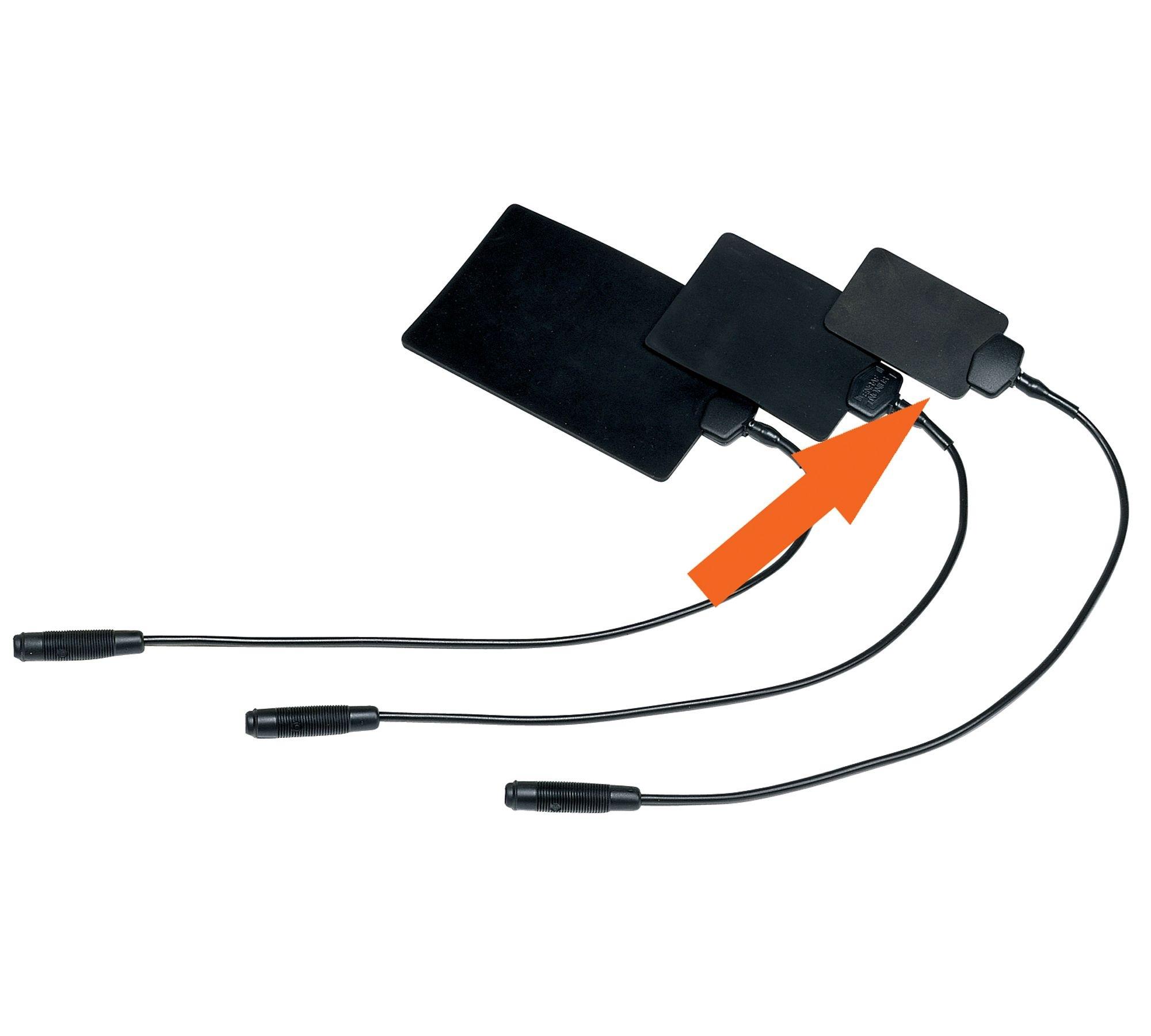 Электроды гибкие резиновые Enraf-Nonius, 4х6 см, 6х8 см, 8х12 см